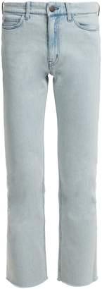 MiH Jeans Niki high-rise slim-leg cropped jeans
