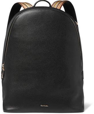 Paul Smith Full-Grain Leather Backpack