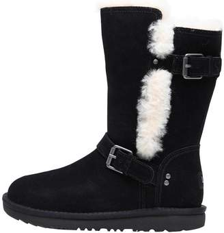 UGG Junior Girls Magda Classic Boots Black