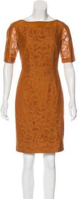 Tahari Arthur S. Levine Silk Lace Dress
