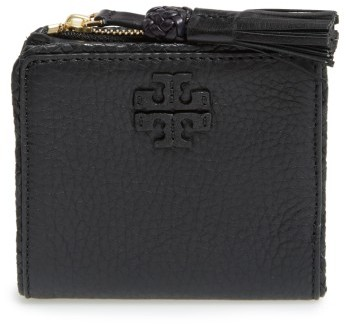 Tory Burch Women's Tory Burch Mini Leather Wallet - Black