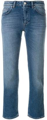 Totême cropped straight jeans