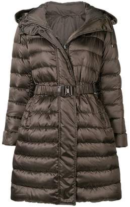 Max Mara hooded puffer jacket