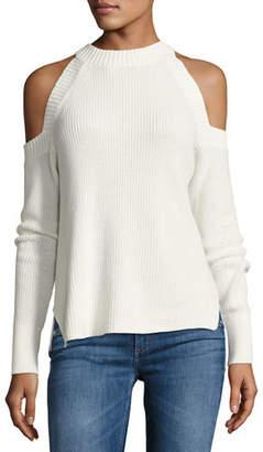 rag & bone/JEAN Dana Cold-Shoulder Sweater $250 thestylecure.com
