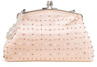 Farfalla Womens 90430 Clutch Pink