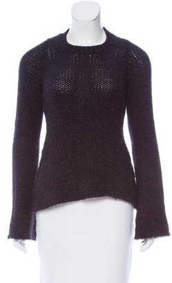 Hache Long Sleeve Wool Blend Sweater
