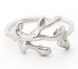 Kate Sydney Jewelry Silver Branch Ring