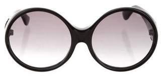 Saint Laurent Round Tinted Sunglasses