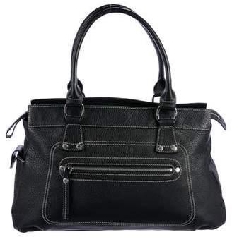 Longchamp Medium Long Handle Leather Tote