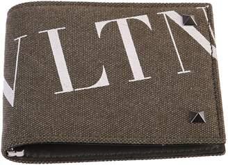 Valentino Green Branded Wallet