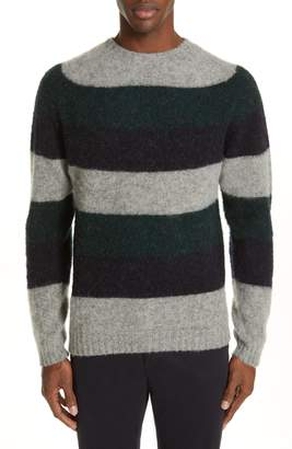 Norse Projects Birnir Stripe Brushed Wool Sweater