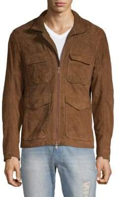 Saks Fifth Avenue Suede Field Jacket