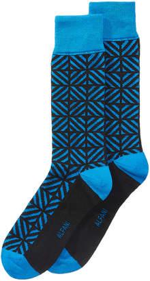 Alfani Men's Geometric-Print Socks, Created for Macy's