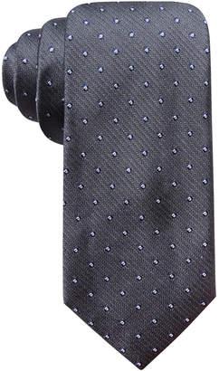 Ryan Seacrest Distinction Men Kelly Dot Silk Tie