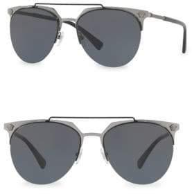 Versace Matte Aviator Sunglasses