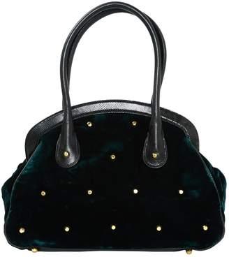 Viktor & Rolf Green Velvet Handbag