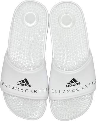 Stella McCartney Adidas Adissage White Slide Pool Sandals