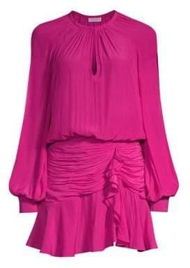Ramy Brook Becca Ruched Mini Dress