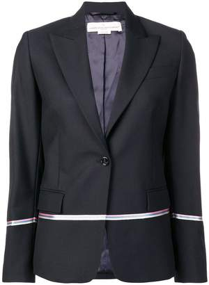 Golden Goose contrast stripe blazer