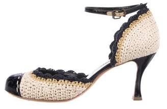 Marc Jacobs Ankle Strap d'Orsay Pumps