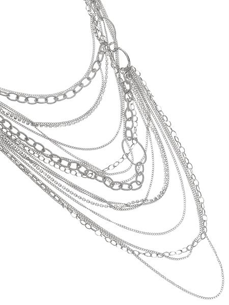 Meldon Multi Layer Chain Necklace