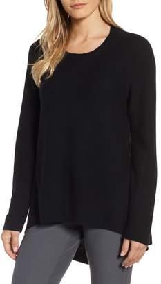 Eileen Fisher Organic Cotton Tunic Sweater
