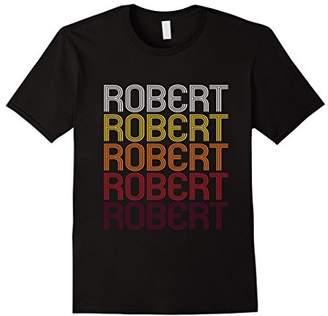Rob-ert Robert Retro Wordmark Pattern - Vintage Style T-shirt