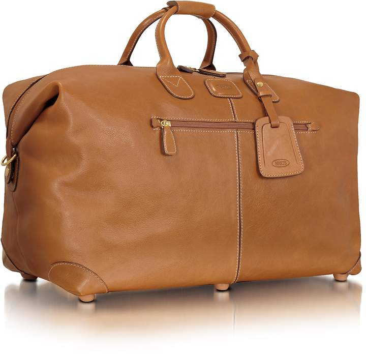 Bric's Life Pelle- Hold-All Duffle