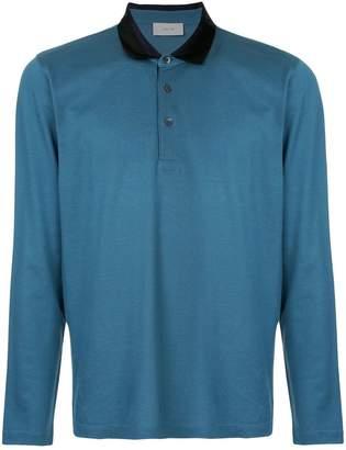 Cerruti long-sleeved polo shirt