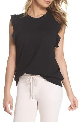 David Lerner Ruffle Lounge Top