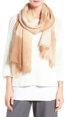 Women's Eileen Fisher Crinkle Scarf $148 thestylecure.com