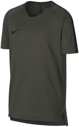 Nike Breathe Squad Older Kids'(Boys') Short-Sleeve Football Top