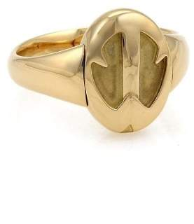 Tiffany & Co. Peretti 18K Yellow Gold Scarab Reversible Flip Top Ring Size 7