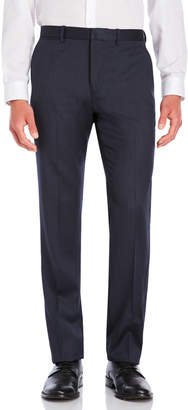 Theory Navy Flat Front Wool Suit Pants