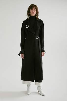 Yigal Azrouel Draped Trench Coat