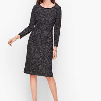 Talbots Knit Tweed Shift Dress