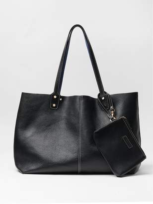 Anna Reversible Leather Tote