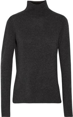 Line Serena cashmere turtleneck sweater $395 thestylecure.com