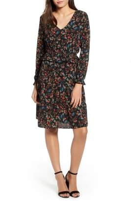 One Clothing Floral Peplum Dress