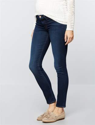 J Brand Pea Collection Under Belly Mama J Super Skinny Maternity Jeans- Fleeting