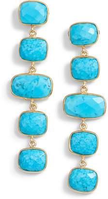 Amalfi by Rangoni Jemma Sands Stone Drop Earrings