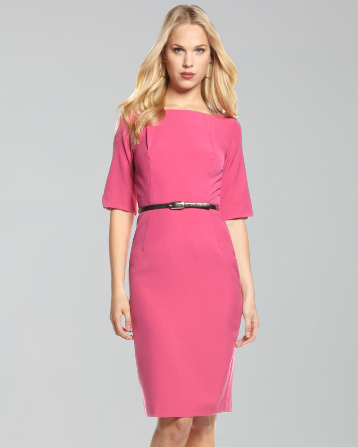 Single Victoria Belted Dress