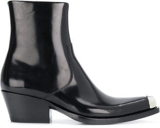 Calvin Klein Chiara Leather Boots