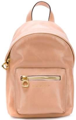 L'Autre Chose embossed logo backpack