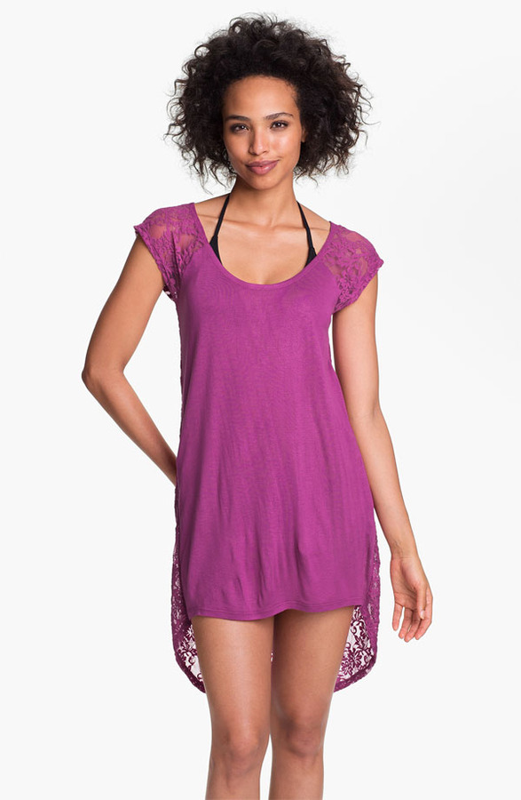 Make + Model 'Layin' Low' Lace Back Cover-Up