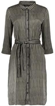 Swildens Sale - Saturn Striped Satin Dress