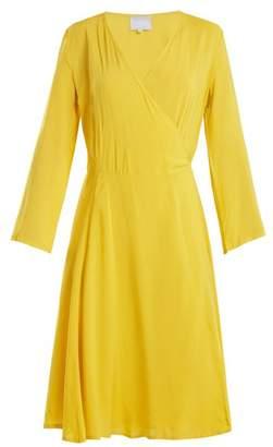 Bower - Bianca Poplin Wrap Dress - Womens - Yellow