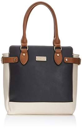 Henley Womens Evie Tote Black/Crm