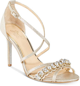 Badgley Mischka Gisele Evening Sandals Women's Shoes