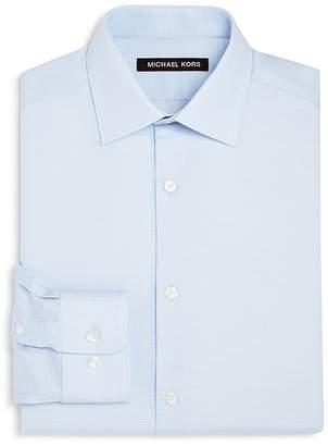 Michael Kors Boys' Tonal-Striped Dress Shirt - Big Kid
